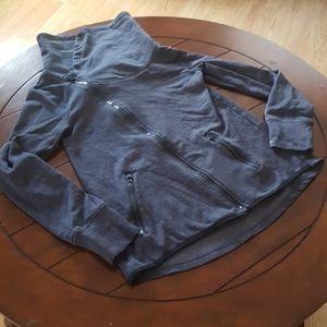 Asymmetrical C9 hi lo athleisure jacket soft Sm